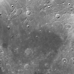 Moon 3D Map