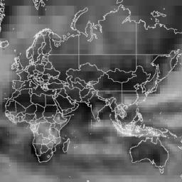 NOAA/NCEP_DOE_RE2/total_cloud_coverage